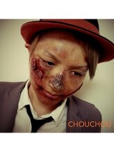 シュシュ(CHOUCHOU)ゾンビメイク