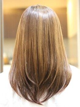 アイディアルヘアー ボニート(idealhair bonito)の写真/【学園前すぐ☆】今話題のTOKIOインカラミトリートメント使用!ダメージを修復し、うるツヤ美髪に♪