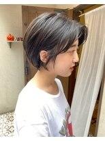 ヘアーメイク アフィーノ(hair make affino)暗髪シアーカラー