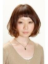 アドゥーヘア ヴィス(A do hair vis)短め前髪のフレンチボブ