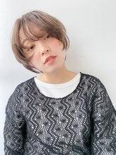 ヘア デザイン ヴェルダ(hair design Verda)マニッシュショート×パープルベージュ◎Yamamoto