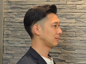 ケースタイルヘアスタジオ 虎ノ門店(K-STYLE HAIR STUDIO)の写真/デキる男は身嗜みから。仕事の合間でも気軽に立ち寄れる◎確かな技術と提案力で大満足の仕上がりに。