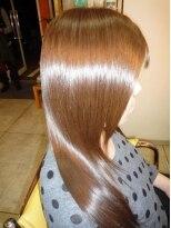 M3D縮毛矯正&ロングレイヤーシャギースタイル