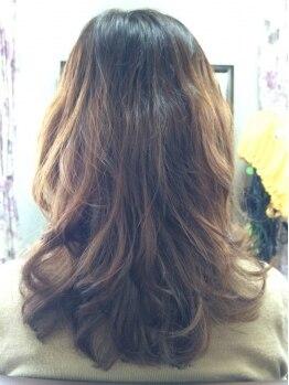 ヘアクリエイト タフス(Hair Create Tafs)の写真/当店のstyle写真はコテやホットカーラー不使用フルドライの写真のみ☆あなたのパーマへの概念を覆します!!