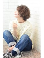 ステージ(STAGE)☆ 作りすぎないラフショート ☆ STAGE Kensuke