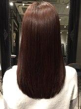 au-be オリジナル髪質改善で艶とまとまりのあるメニュー