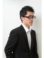 メンズウィル バイ スヴェンソン 札幌スタジオ(MEN'S WILL by SVENSON)フロントかき上げでビジネスに、下してカジュアルなコンマヘアに