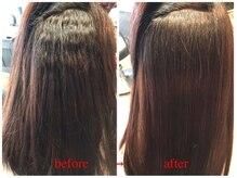 エノア 青山(ENORE)の雰囲気(強い癖毛もENOREオリジナルの弱酸性縮毛矯正で髪質改善。)