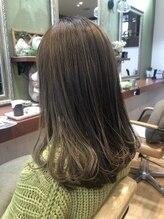 ヘアガーデンプア(Hair Garden Pua)透明感!パールオリーブアッシュ♪