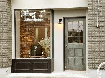 ザ ヘア ディードットログ(The hair D.Log)の写真/【裏路地の隠れ家サロン】NY風がカッコよくてお洒落!大人女性が秘密にしたくなるようなプライベート空間。