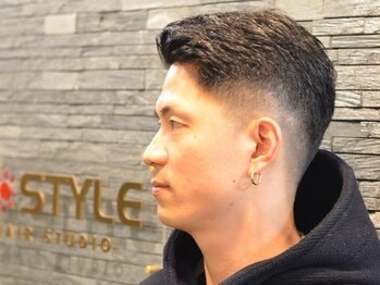 ケースタイルヘアスタジオ 虎ノ門店(K-STYLE HAIR STUDIO)の写真/メンズカットを知り尽くした技術×髪質や骨格から見極めた提案力◎手間をかけずにキマるスタイルが叶う!