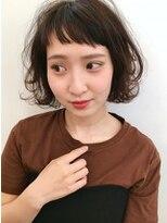 【JUNO】オン眉 ショートバング 黒髪ボブ