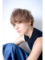 silver beige×edge 【short】 2