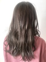 フレイムスヘアデザイン(FRAMES hair design)透明感グレージュ×ロングレイヤー