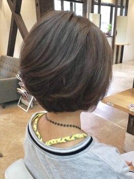 ブームヘアー 唐木田店(BooM HaiR)の写真/実力派スタッフが作り上げる骨格・髪質・クセを見極めたカットで扱いやすさ◎毎朝のスタイリングも簡単♪