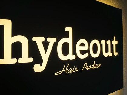 ヘアプロデュースハイドアウト(hair produce hydeout)の写真