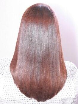 エルドール(ailed'ore)の写真/《ailed'ore》は縮毛矯正に自信あり♪髪質改善×ダメージレスだから輝くような艶髪に!毎朝のセットも楽に♪