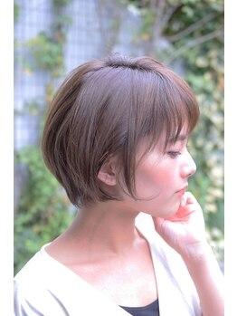 ミーケ(miike)の写真/《コロナ対策実施》カットが得意な美容室☆ショートヘアにするなら【miike】美シルエットで崩れにくい♪
