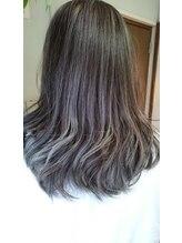 ヘアーメイク プリュム(Hair make Plume)濃厚グレーカラー