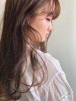 アンバースデー(UNBIRTHDAY)ハイライト/ロング/質感カラー【大成志織】