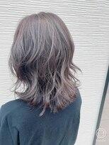 ヘア ヴィーヴル 田宮店(Hair BIVRE)ふんわりラベージュ