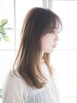 ジュール 銀座 ヘアラウンジ(Joule Hair Lounge)秋カラーうざバング 【Joule GINZA】