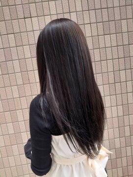 ヘアアンドメイクグラチア(HAIR and MAKE GRATIAE)6トーン☆暗髪グレージュ