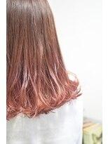 【miel hair bijoux】グラデヨーロピアンスタイル