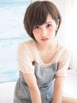 大人かわいい☆小顔ショート