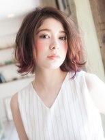 美容室パイナップル犬塚店ロックスフェミニンスタイル☆