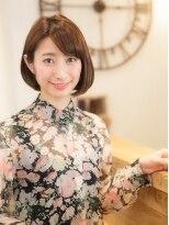 オーブ ヘアー コト 京都北山店(AUBE HAIR koto)シルエット美人なボブで上品な可愛さを纏って♪