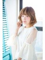 ナイン(9 nine)「9-nine-」「SAWADA」大人かわいいモテくびれボブスタイル