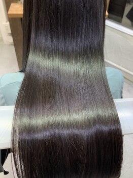 リタ ヘアー(Rita hair)の写真/[上本町/谷町9丁目]《話題の酸熱TR&ホリスティックMENU取扱☆》厳選したヘアケアで髪質改善し,うる艶美髪に