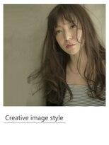 ヴェローグ シェ ブー(belog chez vous hair luxe)【Creative image styel】スインググレージュロング