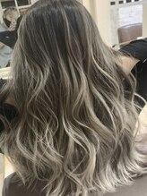 外国人風カラー&透明感カラーならgrowにお任せ♪そして話題の髪質改善★【サイエンスアクア】導入