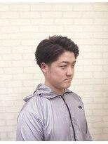 メンズ レオ 天六店(men's LEO)【好感度】ツーブロックネープレス七三
