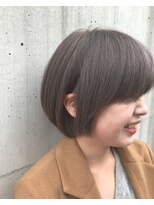 ヘアーヒーリングウィッシュ(Hair Healing Wish)ダブルカラー グレージュ スリークショート[調布国領]