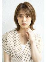 アンアミ オモテサンドウ(Un ami omotesando)【Un ami】《増永剛大》くびれイヤリングカラーボブ、20、30代