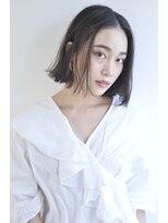 ボヌール 西梅田店(Bonheur)【女性stylist杉崎】シンプル大人ボブ