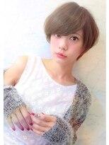 ラベリー(LOVELEY)LOVELEY 外国人風ショートボブ ミルクティーカラー☆397