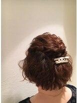 松本平太郎美容室 青山店パーティーアップスタイル