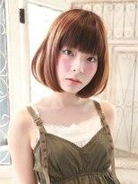 髪質改善と縮毛矯正の専門店 サンティエ(scintiller)肩ではねるお悩み解消~重めボブスタイル