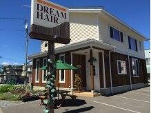 ドリーム ヘアー(DREAM HAIR)の雰囲気(メイン道路、出入りしやすい広々した駐車場が店舗横に有ります◎)
