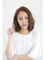 サンク ドリームプラザ店(CINQ)【CINQ】大柳 お手入れ簡単ゆるふわボブ
