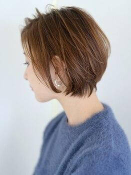 サンク ドリームプラザ店(CINQ)の写真/丁寧なカウンセリングから一人ひとりの髪質・骨格を見極めカット。お家でも再現しやすいスタイルを実現☆
