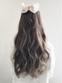リベロ(Libero)の写真/パーマに絶対の自信アリ★髪に優しい薬剤を使用するデジタルパーマで、毎朝のセットも簡単サロンstyleに♪