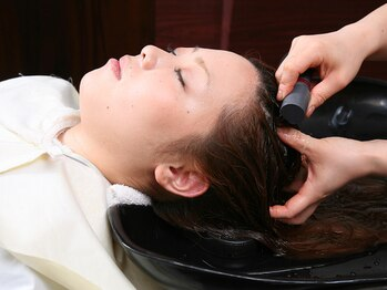 ヘアースペース オブジェ(Hair Space Objet)の写真/カウンセリングで悩み&要望を聞き取り、カメラで頭皮を確認!あなたにピッタリなスパを5種類の中からご案内