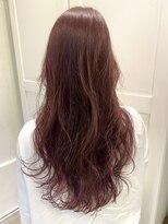 センスヘア(SENSE Hair)ツヤ感カシスピンク