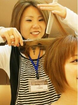 ヘアーズエナジー 守口店(HAIRS energy)の写真/【髪が多い・クセ毛にお困りの方に】特許取得のカット技術で、今までにない扱いやすさに♪