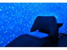 トータルビューティーステラ(TOTAL BEAUTY STELLA)の雰囲気(個室で行い、首が疲労しにくい最新の眠れるシャンプー台でzzz…)